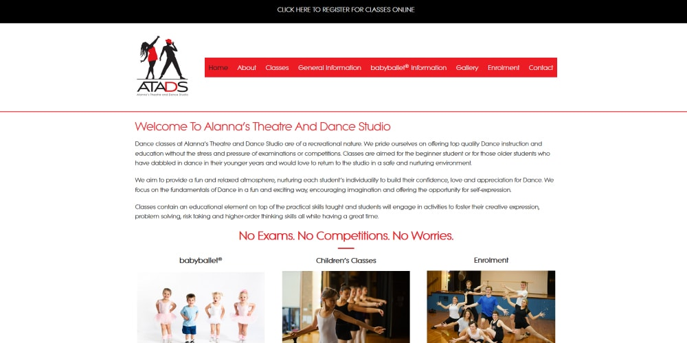 Website Design Portfolio | ATADS